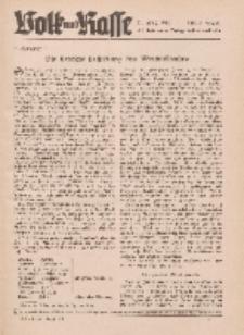 Volk und Rasse, 17. Jg. August 1942, Heft 8.