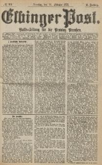 Elbinger Post, Nr. 44, Sonntag 21 Februar 1875, 2 Jh