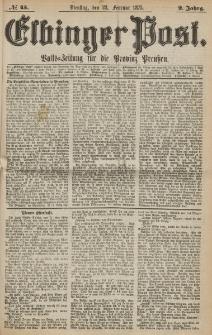 Elbinger Post, Nr. 45, Sonntag 23 Februar 1875, 2 Jh