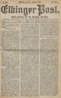 Elbinger Post, Nr. 46, Mittwoch 24 Februar 1875, 2 Jh