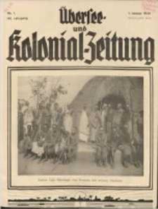 Übersee- und Kolonialzeitung, 44. Jg. 1. Januar 1932, Nr 1.