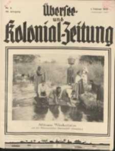 Übersee- und Kolonialzeitung, 44. Jg. 1. Februar 1932, Nr 2.