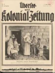 Übersee- und Kolonialzeitung, 44. Jg. 1. Juni 1932, Nr 6.