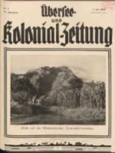 Übersee- und Kolonialzeitung, 44. Jg. 1. Juli 1932, Nr 7.