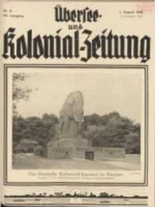 Übersee- und Kolonialzeitung, 44. Jg. 1. August 1932, Nr 8.