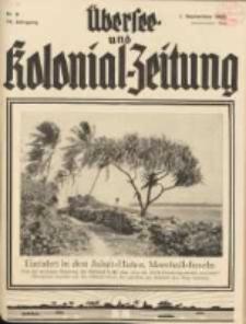 Übersee- und Kolonialzeitung, 44. Jg. 1. September 1932, Nr 9.