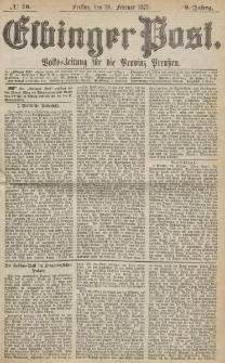Elbinger Post, Nr. 48, Freitag 26 Februar 1875, 2 Jh