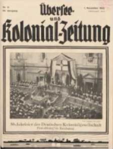 Übersee- und Kolonialzeitung, 44. Jg. 1. November 1932, Nr 11.