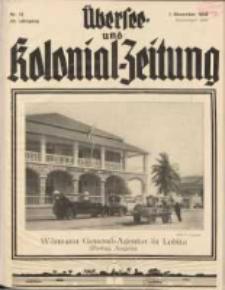 Übersee- und Kolonialzeitung, 44. Jg. 1. Dezember 1932, Nr 12.