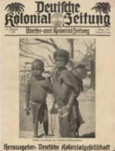 Deutsche Kolonial-Zeitung, 45. Jg. 1. Januar 1933, Heft 1.