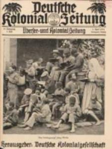 Deutsche Kolonial-Zeitung, 45. Jg. 1. April 1933, Heft 4.