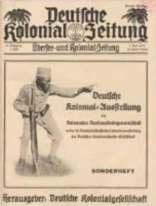 Deutsche Kolonial-Zeitung, 45. Jg. 1. Juni 1933, Heft 6.