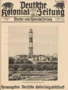 Deutsche Kolonial-Zeitung, 45. Jg. 1. Oktober 1933, Heft 10.