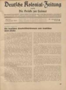 Deutsche Kolonial-Zeitung, 46. Jg. 1. Februar 1934, Heft 2.