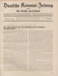 Deutsche Kolonial-Zeitung, 47. Jg. 1. Februar 1935, Heft 2.