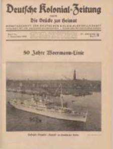 Deutsche Kolonial-Zeitung, 47. Jg. 1. September 1935, Heft 9.