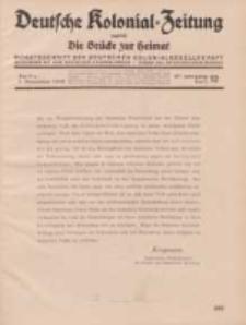 Deutsche Kolonial-Zeitung, 47. Jg. 1. Dezember 1935, Heft 12.