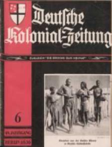 Deutsche Kolonial-Zeitung, 48. Jg. 1. Juni 1936, Heft 6.