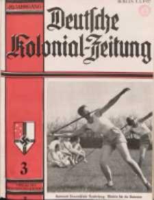 Deutsche Kolonialzeitung, 49. Jg. 1. März 1937, Heft 3.