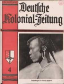 Deutsche Kolonialzeitung, 49. Jg. 1. April 1937, Heft 4.