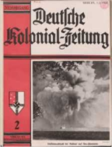 Deutsche Kolonialzeitung, 50. Jg. 1. Februar 1938, Heft 2.