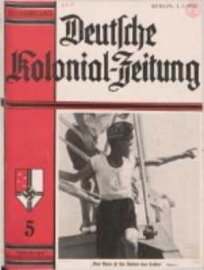 Deutsche Kolonialzeitung, 50. Jg. 1. Mai 1938, Heft 5.