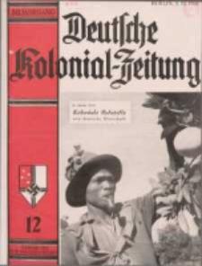 Deutsche Kolonialzeitung, 50. Jg. 1. Dezember 1938, Heft 12.