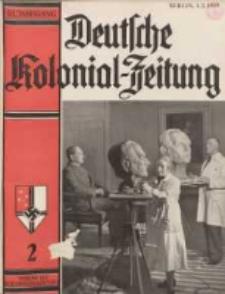 Deutsche Kolonialzeitung, 51. Jg. 1. Februar 1939, Heft 2.