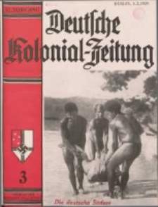 Deutsche Kolonialzeitung, 51. Jg. 1. März 1939, Heft 3.