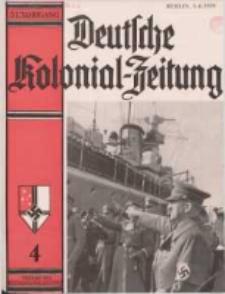 Deutsche Kolonialzeitung, 51. Jg. 1. April 1939, Heft 4.