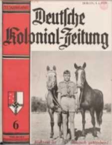 Deutsche Kolonialzeitung, 51. Jg. 1. Juni 1939, Heft 6.