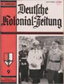 Deutsche Kolonialzeitung, 51. Jg. 1. September 1939, Heft 9.