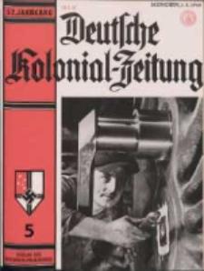 Deutsche Kolonialzeitung, 52. Jg. 1. Mai 1940, Heft 5.