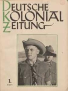 Deutsche Kolonialzeitung, 53. Jg. 1. Januar 1941, Heft 1.