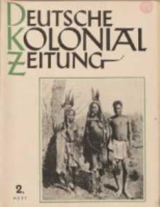 Deutsche Kolonialzeitung, 53. Jg. 1. Februar 1941, Heft 2.