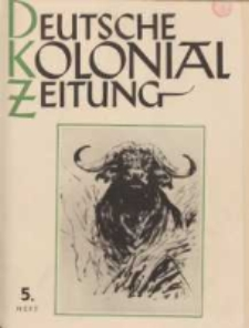Deutsche Kolonialzeitung, 53. Jg. 1. Mai 1941, Heft 5.