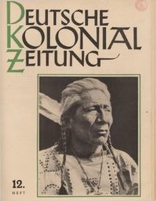 Deutsche Kolonialzeitung, 53. Jg. 1. Dezember 1941, Heft 12.