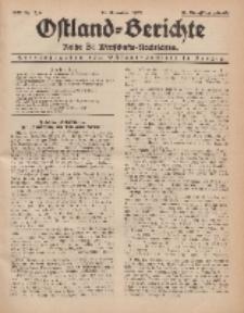 Ostland-Berichte. Reihe B. Wirtschafts-Nachrichten, 15. Dezember 1933, Nr 7/ 8.