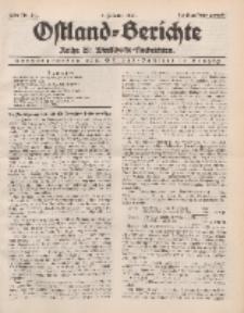 Ostland-Berichte. Reihe B. Wirtschafts-Nachrichten, 5. Februar 1934, Nr 4/ 5.