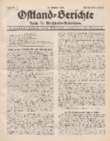 Ostland-Berichte. Reihe B. Wirtschafts-Nachrichten, 25. Februar 1934, Nr 7.