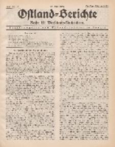 Ostland-Berichte. Reihe B. Wirtschafts-Nachrichten, 25. Mai 1934, Nr 15.