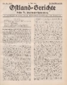 Ostland-Berichte. Reihe B. Wirtschafts-Nachrichten, 15. Juni 1934, Nr 16/ 17.