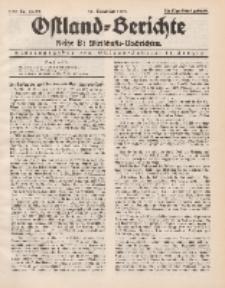 Ostland-Berichte. Reihe B. Wirtschafts-Nachrichten, 25. November 1934, Nr 28-29.
