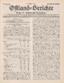 Ostland-Berichte. Reihe B. Wirtschafts-Nachrichten, 5. Dezember 1934, Nr 30.