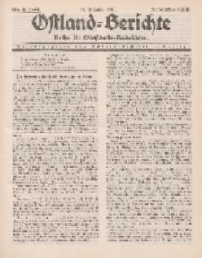 Ostland-Berichte. Reihe B. Wirtschafts-Nachrichten, 25. Dezember 1934, Nr 31-32.