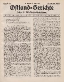 Ostland-Berichte. Reihe B. Wirtschafts-Nachrichten, 16. Februar/ 15. März 1935, Nr 4-5.