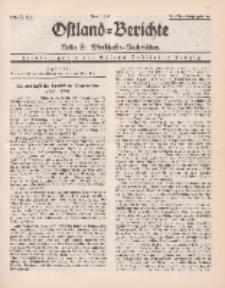 Ostland-Berichte. Reihe B. Wirtschafts-Nachrichten, April 1935, Nr 6-8.