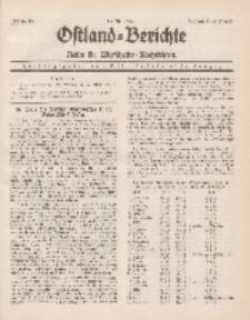Ostland-Berichte. Reihe B. Wirtschafts-Nachrichten, 15. Juli 1935, Nr 13.