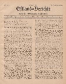 Ostland-Berichte. Reihe B. Wirtschafts-Nachrichten, 1. August 1935, Nr 14.