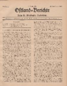 Ostland-Berichte. Reihe B. Wirtschafts-Nachrichten, 15. August 1935, Nr 15.